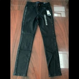 NEW Tommy Hilfiger Greenwich black skinny jeans